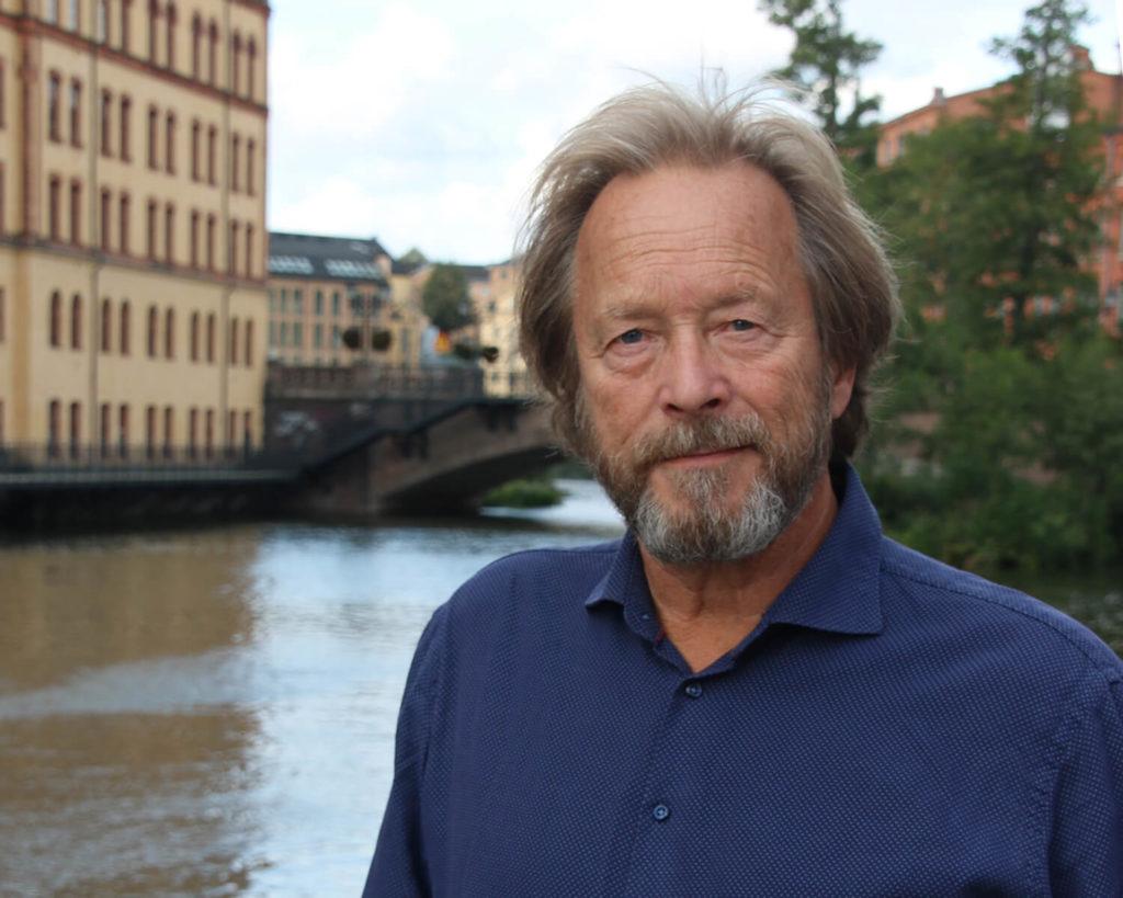 Porträtt på Björn Holst